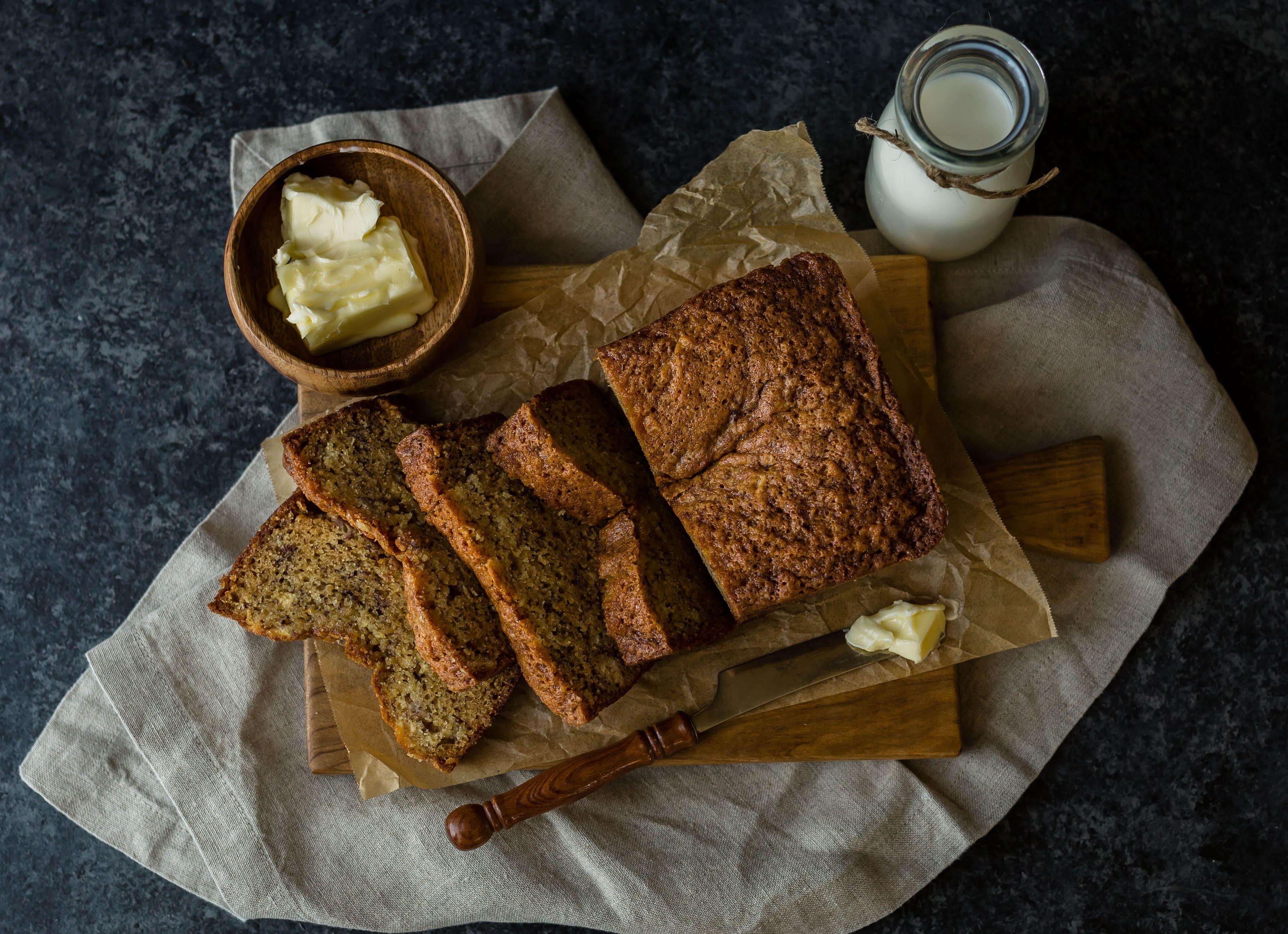 La mejor receta de Pan de Plátano o Banana Bread
